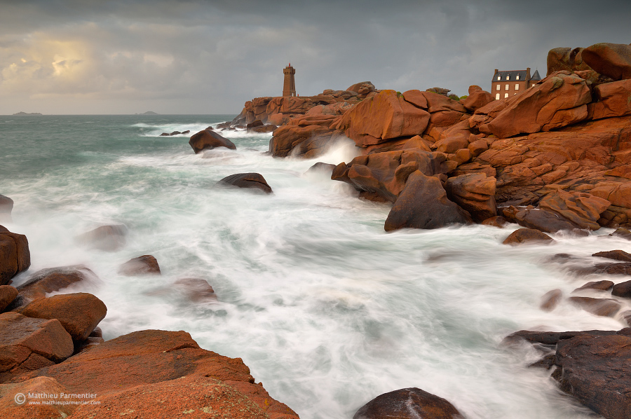 Men Ruz lighthouse - Brittany - France