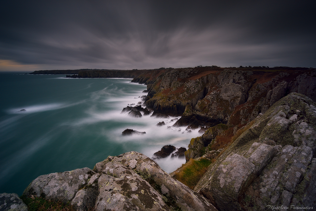 France-Brittany-Pointe-Du-Van-Dark-And-Windy