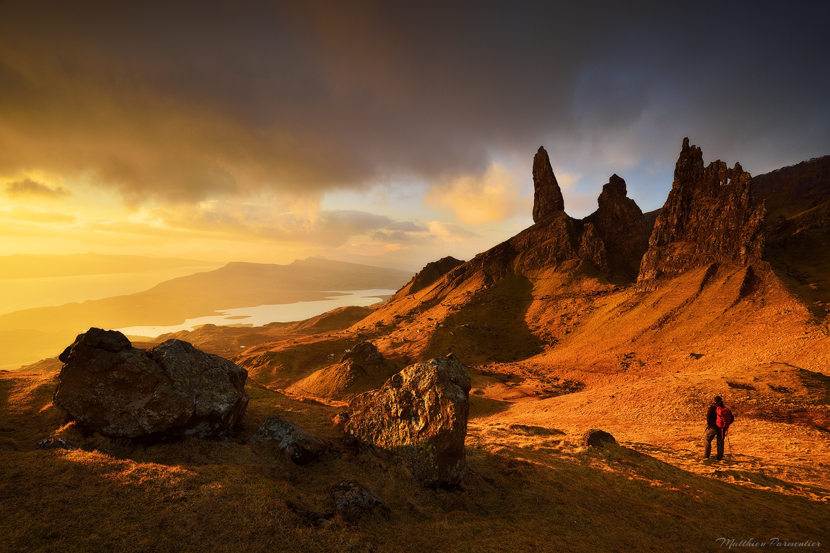 A very special moment| The old man of Storr - Skye Island - Scotland | 2017