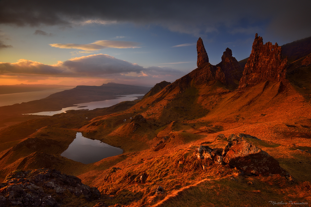 The red hour| The old man of Storr - Skye Island - Scotland | 2017