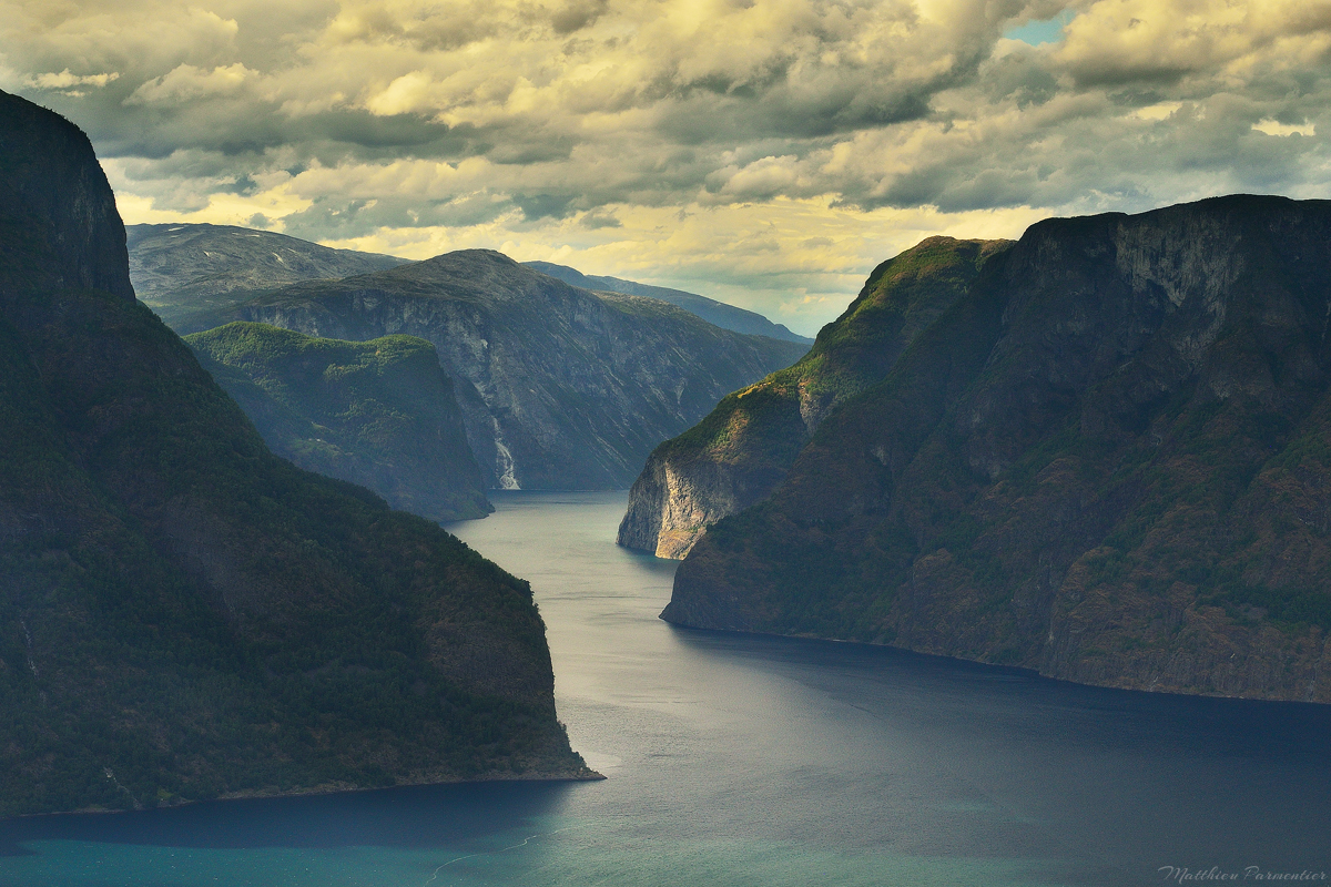 The classic view | Aurland fjord - Norway | 2018